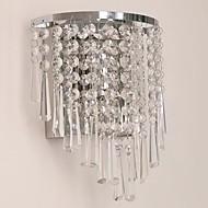 baratos Arandelas de Parede-QIHengZhaoMing Cristal LED / Moderno / Contemporâneo Luminárias de parede Lojas / Cafés / Escritório Metal Luz de parede 110-120V / 220-240V 5 W / E12 / E14
