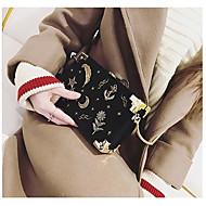 baratos Bolsas de Ombro-Mulheres Bolsas Veludo Bolsa de Ombro Apliques Vermelho / Rosa / Cinzento