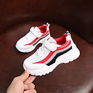 baratos Sapatos de Menino-Para Meninos Sapatos Com Transparência / Couro Ecológico Primavera Verão Conforto Tênis Caminhada para Adolescente Branco / Preto / Rosa claro