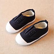baratos Sapatos de Menino-Para Meninos / Para Meninas Sapatos Lona Primavera & Outono Conforto Rasos Elástico para Bébé Verde / Rosa claro / Azul Claro