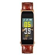 tanie Inteligentne zegarki-Inteligentny zegarek Y6 na iOS / Android Pulsometr / Pomiar ciśnienia krwi / Spalone kalorie / Długi czas czuwania / Odbieranie bez użycia rąk Krokomierz / Powiadamianie o połączeniu telefonicznym