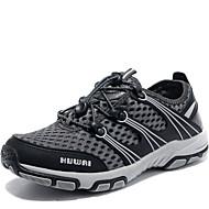baratos Sapatos Masculinos-Homens Couro Ecológico / Tecido elástico Verão Conforto Tênis Aventura / Água Cinzento / Marron / Khaki
