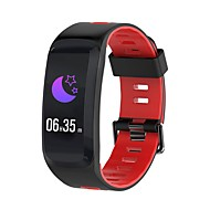 tanie Inteligentne zegarki-Inteligentny zegarek NO.1 F4 na iOS / Android Pulsometr / Wodoodporne / Pomiar ciśnienia krwi / Spalone kalorie / Długi czas czuwania Stoper / Krokomierz / Powiadamianie o połączeniu telefonicznym