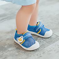 baratos Sapatos de Menino-Para Meninos / Para Meninas Sapatos Com Transparência Verão Conforto Tênis Velcro para Bébé Rosa claro / Azul Claro / Azul Real
