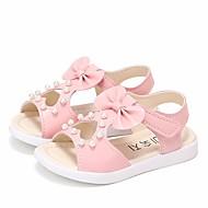 baratos Sapatos de Menina-Para Meninas Sapatos Couro Sintético Verão Conforto Sandálias para Branco / Fúcsia / Rosa claro