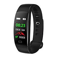 BoZhuo F64HR Unisex Uita-te inteligent Android iOS Bluetooth Sporturi Rezistent la apă Monitor Ritm Cardiac Măsurare Tensiune Arterială Calorii Arse Pedometru Reamintire Apel Sleeptracker Memento