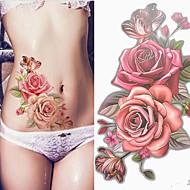 billiga Temporära tatueringar-3 pcs tillfälliga tatueringar Lena klistermärken / Säkerhet arm / skuldra Kortpapper / Dekalstil tillfälliga tatueringar