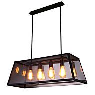 billige Takbelysning og vifter-4-Light Lysekroner Nedlys Malte Finishes Metall 110-120V / 220-240V Pære ikke Inkludert