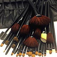 32pcs Make-up pensler Professionel Brush Sets Uld / Gedehårs Børste / Nylon Børste Øko Venlig / Professionel / Blød Træ / Bambus