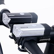 billige Sykkellykter og reflekser-Frontlys til sykkel LED Sykkellykter LED Sykling Vanntett, Oppladbar, Mulighet for demping Lithium-batteri 180 lm Usb Camping / Vandring / Grotte Udforskning / Dagligdags Brug / Sykling / IPX-4