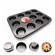 billige Bakeredskap-Bakeware verktøy Metall Varmebestandig / 3D / Multifunktion Brød / For Småkake Rektangulær Cake Moulds 1pc