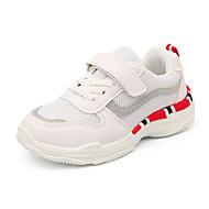 baratos Sapatos de Menina-Para Meninas Sapatos Com Transparência / Couro Ecológico Primavera Verão Conforto Tênis Caminhada para Adolescente Vermelho / Verde