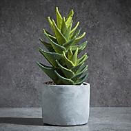 billige Kunstige blomster-Kunstige blomster 1 Gren Klassisk Moderne / Nutidig / Enkel Stil Evige blomster / Sukkulente planter Bordblomst