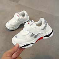 baratos Sapatos de Menino-Para Meninos Sapatos Com Transparência Outono & inverno Conforto Tênis Presilha para Infantil Prateado / Vermelho / Verde