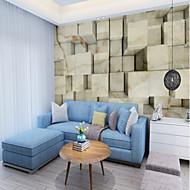billige Tapet-bakgrunns / Veggmaleri Lerret Tapetsering - selvklebende nødvendig Art Deco / 3D / Stein