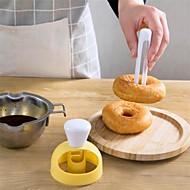 billige Bakeredskap-Bakeware verktøy Plast Multifunktion / Kreativ Kjøkken Gadget For kjøkkenutstyr Rund Pieverktøy / Pastry Cutters / Pasta Verktøy 1pc