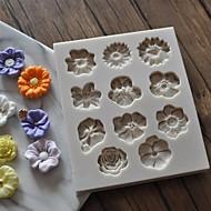 billige Bakeredskap-Bakeware verktøy Silikongel GDS Dagligdags Brug / For kjøkkenutstyr Kvadrat Cake Moulds 1pc