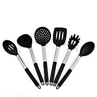 baratos Utensílios de Cozinha-Utensílios de cozinha Aço Inoxidável e Plástico Novo Design / Multifunções / Gadget de Cozinha Criativa Utensílios de Especialidade / Conjuntos de ferramentas para cozinhar / Spoon Rests & Pot Clips