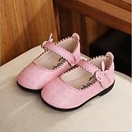 tanie Obuwie chłopięce-Dla chłopców Obuwie PU Wiosna & jesień Comfort Buty płaskie na White / Peach / Różowy