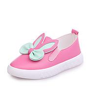 baratos Sapatos de Menina-Para Meninas Sapatos Couro Ecológico Primavera Verão Conforto Mocassins e Slip-Ons Caminhada para Infantil Branco / Fúcsia / Rosa claro