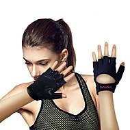 baratos Equipamentos & Acessórios Fitness-Luvas de levantamento de peso Com 2 pcs Microfibra Protetores de Pulso Embutidos, Ajustável Proteção total da palma e aderência extra, Anti-desgaste Para Exercício e Atividade Física / Ginásio