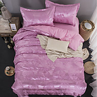 billige Hjemmetekstiler-Sengesett Luksus Polyester Mønstret 4 deler