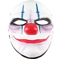 baratos -Decorações de férias Decorações de Halloween Máscaras de Dia das Bruxas / Halloween Entertaining Decorativa / Legal Branco 1pç
