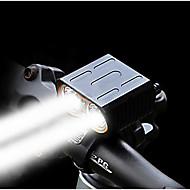 billige Sykkellykter og reflekser-Frontlys til sykkel Dual LED Sykkellykter LED Sykling Bærbar, Fort Frigjøring, Flere moduser Oppladbart Li-ion Batteri 1600 lm Oppladsbare batterier Hvit Camping / Vandring / Grotte Udforskning