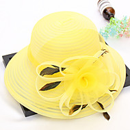Organza Καπέλα με Φτερό / Λουλούδι 1pc Γάμου / Πάρτι / Βράδυ Headpiece