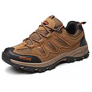 tanie Small Size Shoes-Męskie Komfortowe buty Zamsz Jesień Buty do lekkiej atletyki Turystyka górska Szary / Brązowy / Zielony