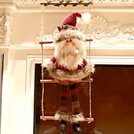 Χαμηλού Κόστους Χριστουγεννιάτικα Διακοσμητικά-Χριστουγεννιάτικα στολίδια Κινούμενα σχέδια Πολυεστέρας Τετράγωνο Παιχνίδι γελοιογραφία Χριστούγεννα Διακόσμηση
