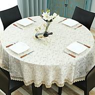 billige Duker-Moderne Ikke Vevet Rund Duge Geometrisk Mønstret Borddekorasjoner 1 pcs