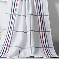 billige -Overlegen kvalitet Badehåndkle, Stripet 100% bomull Baderom 1 pcs