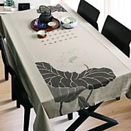 billige Duker-Antikk Bomull Kvadrat Duge Blomstret Borddekorasjoner 1 pcs