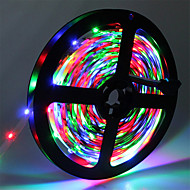 Cheap led strip lights online led strip lights for 2018 hkv 5m flexible led light strips 300 leds 3528 smd rgb cuttable linkable self adhesive 12 v aloadofball Choice Image