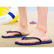 baratos Sapatos Masculinos-Homens Sapatas de novidade Látex Verão Chinelos e flip-flops Massgem Amarelo / Rosa claro / Azul Claro