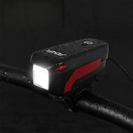 billige Sykkellykter og reflekser-Bike Horn Light LED Sykling Vanntett, Bærbar 350 lm Camping / Vandring / Grotte Udforskning