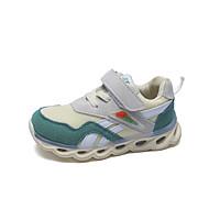 baratos Sapatos de Menina-Para Meninas Sapatos Com Transparência / Couro Ecológico Primavera Verão Conforto Tênis Caminhada para Adolescente Branco / Vermelho / Verde