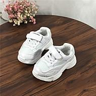 baratos Sapatos de Menino-Para Meninos Sapatos Com Transparência Primavera & Outono Conforto Tênis Corrida para Bebê Branco / Preto / Vermelho