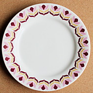 billiga Bordsservis-1 st Porslin Kreativ / Värmetålig Flata tallrikar, servis