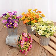 billige Kunstige blomster-Kunstige blomster 1 Gren Klassisk / Singel Stilfull Planter Bordblomst