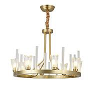 billige Takbelysning og vifter-ZHISHU 8-Light Sirkelformet / Sputnik / Originale Lysekroner Opplys - Kreativ, Nytt Design, 110-120V / 220-240V Pære ikke Inkludert
