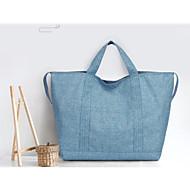 baratos Bolsas de Ombro-Mulheres Bolsas Tecido Oxford Bolsa de Ombro Cor Única Azul / Cinzento Escuro