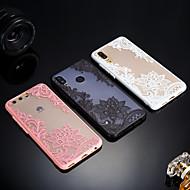 billiga Mobil cases & Skärmskydd-fodral Till Huawei P20 / P20 lite Frostat / Genomskinlig / Läderplastik Skal spetsar Utskrift Hårt Akrylfiber för Huawei P20 / Huawei P20 Pro / Huawei P20 lite / P10 Plus / P10 Lite / P10