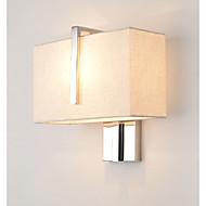 baratos Arandelas de Parede-Moderno / Contemporâneo Luminárias de parede Quarto Metal Luz de parede 220-240V 40 W