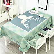 billige Duker-Moderne Bomull Kvadrat Duge Mønstret Borddekorasjoner 1 pcs