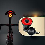 billige Sykkellykter og reflekser-Baklys til sykkel / Baklys LED Sykling Vanntett, Usynlig, Lettvekt Li-ion 50 lm USB-ladet Rød Sykling