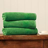 tanie Ręcznik kąpielowy-Najwyższa jakość Ręcznik kąpielowy, Jendolity kolor / Geometryczny 100% bawełna Łazienkowe 1 pcs