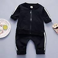 Baby Drenge Trykt mønster Langærmet Tøjsæt