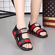 baratos Sapatos de Menino-Para Meninos Sapatos Couro Ecológico Verão Conforto Sandálias para Vermelho / Azul